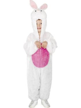 Childrens Animal Fancy Dress - Bunny Rabbit Costume - S & M