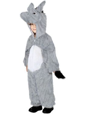 Childrens Animal Fancy Dress - Donkey Costume - Age 7-9 Years