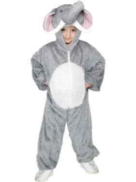 Childrens Animal Fancy Dress - Elephant Costume