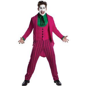 Mens Deluxe Retro 1966 Joker Costume
