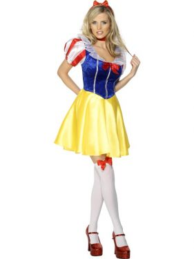 Sexy Fever Fairytale Snow White Costume