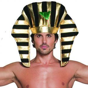 Adult Egyptian Pharaoh Fancy Dress Headpiece