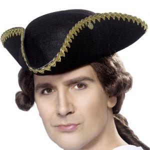 Dick Turpin or Pirate Tricorn Hat