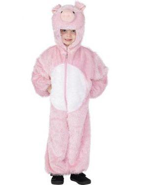 Childrens Animal Fancy Dress Pig Costume