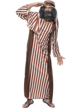 Mens Christmas Nativity Shepherd Costume