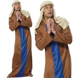 Mens Christmas Nativity Joseph Costume