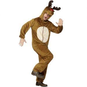Christmas Fancy Dress - Rudolf Reindeer Costume - Animal Suit