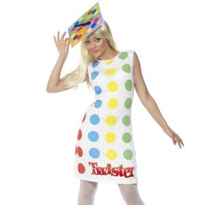 1980s Twister Fancy Dress Costume