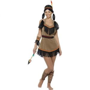 Indian Lady Fancy Dress Costume