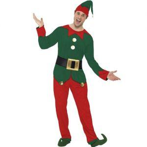 Men's Elf Fancy Dress Costume
