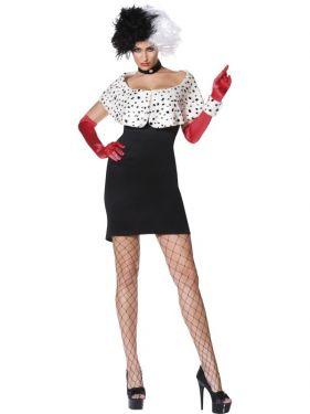 Halloween Evil Madame Cruella Costume