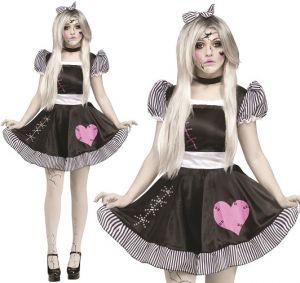 Halloween Ladies Broken Doll Costume