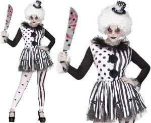 Ladies Killer Clown Lady Costume