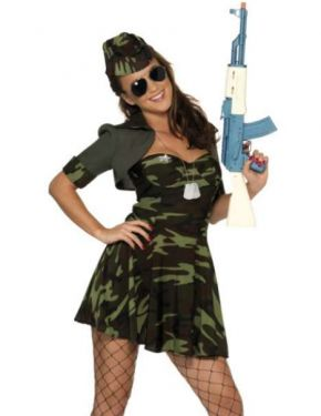 military-babe-costume