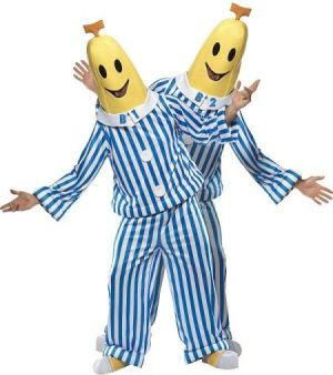 Bananas in Pyjamas Fancy Dress Costume - Medium