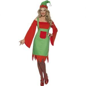 Ladies Cute Elf Costume
