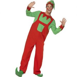 Christmas Mens Workshop Elf Costume