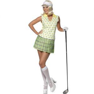 Ladies Gone Golfing Fancy Dress Costume