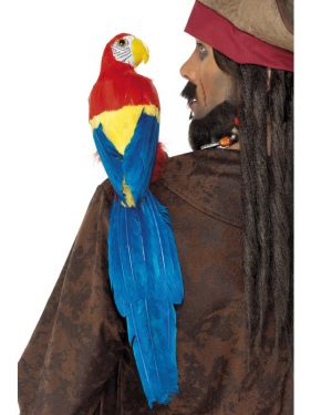 Fancy Dress Parrot 58cm