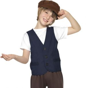 Boys Victorian Peasant Poor Boy Fancy Dress Kit