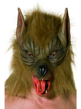 Halloween Brown Werewolf Mask