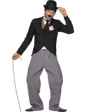20s Movie Star Chaplin Fancy Dress Costume