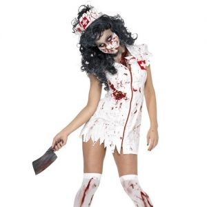 Ladies Zombie Nurse Costume