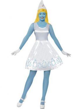 Smurfette Fancy Dress Costume