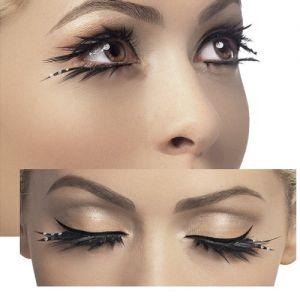 Fancy Dress False Eyelashes by Smiffys - Sparkle