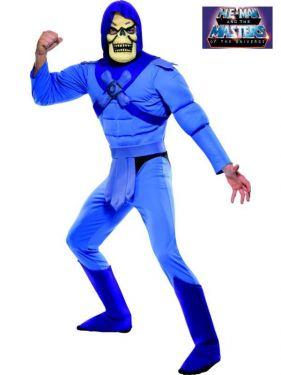 Mens He-Man Skeletor Fancy Dress Costume