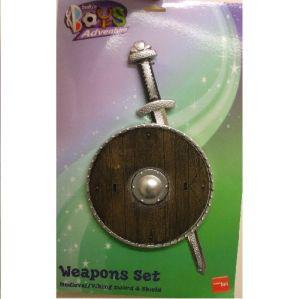 Viking Shield & Sword Set