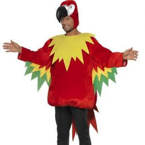 """Smiffys Parrot Costume - One Size - 38-42"""""""