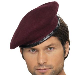 Soldiers Fancy Dress Red Beret