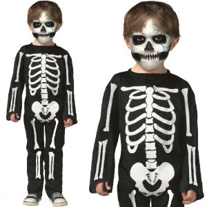 Toddlers Scary Skeleton Costume