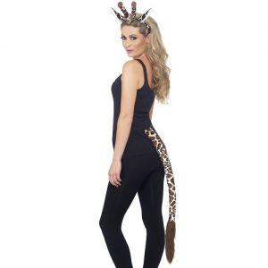 Giraffe Instant Fancy Dress Set - Ears on band & Tail