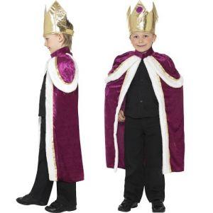 Christmas Fancy Dress Childrens Nativity King Costume