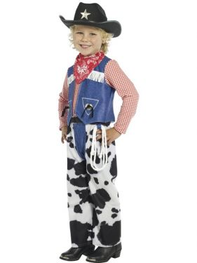 Boys Ropin Cowboy Costume - S & M