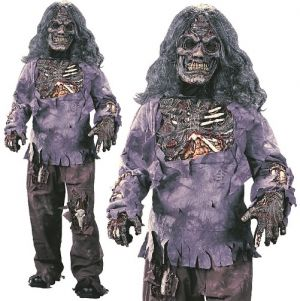 Kids Complete Zombie Costume