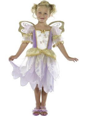 Childrens Fairy Princess Costume - S & M