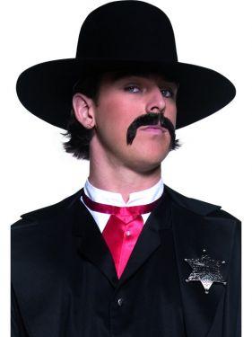 Cowboy Fancy Dress - Authentic Sheriff Hat - Black