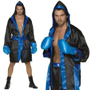 Adult Boxer Fancy Dress Costume