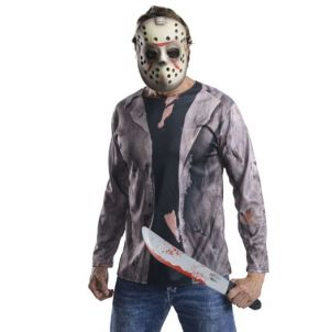 Jason Voorhees Fancy Dress Costume Kit