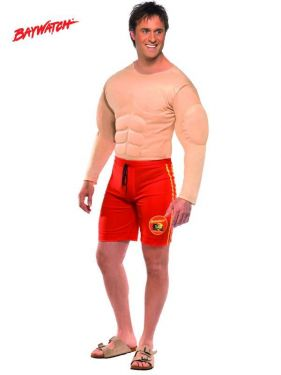 Mens Fancy Dress - Baywatch Lifeguard Costume
