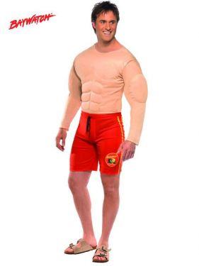 Mens Fancy Dress - Baywatch Lifeguard Costume