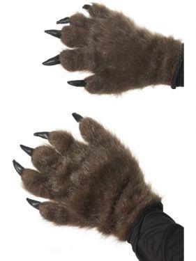 Halloween Hairy Fur Hands - Werewolf Hands