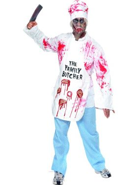Mens Deadly Chef Costume