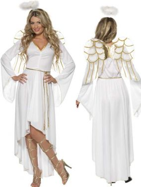 Christmas Ladies Angel Costume