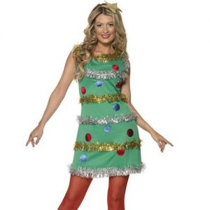 Ladies Christmas Tree Costume