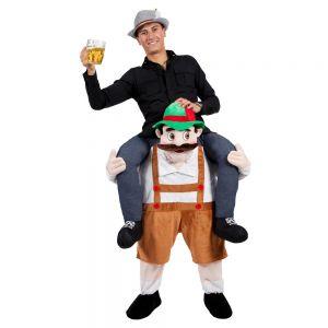 Deluxe Carry Me Bavarian Beer Guy Fancy Dress Costume