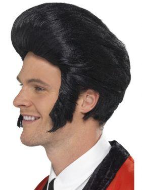 Mens 50s Quiff King Elvis Type Wig